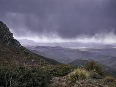 Flatiron from Brown's Peak Saddle - Four Peaks...