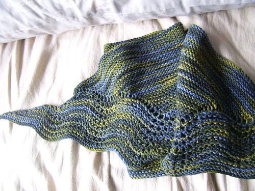 sock candy shawl
