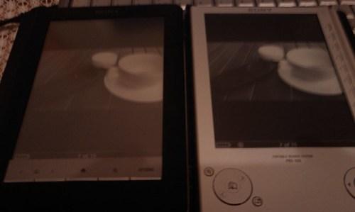 Sony PRS505 vs Sony PRS600