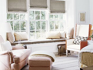 nook window seat cottage living