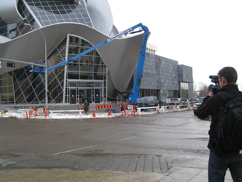 Torch Reporter in Edmonton!