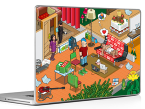 Celebrate 10 years of the Sims Franchise with artwork inspired by The Sims