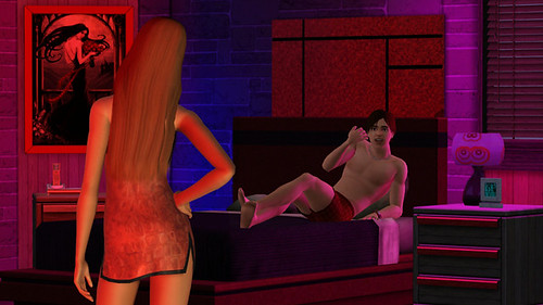 The Sims Team wishes you a Happy Valentines Day with two images