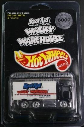Hot Wheels Wacky Warehouse truck 1
