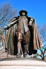 Puritan Statue