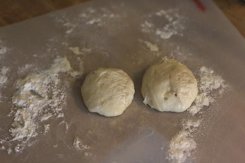Sourdough bread starting
