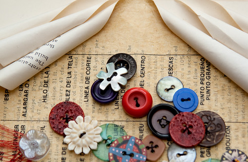 Altered Book- Buttons-5