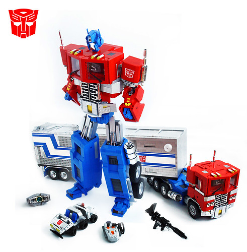 LEGO Optimus Prime Transformer