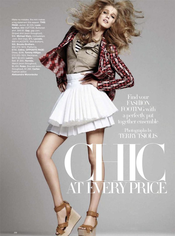 Harper's Bazaar US April 2010