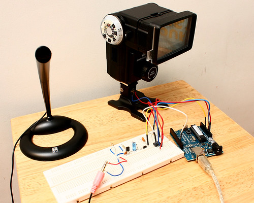 Sound Sensor Flash Trigger with Arduino