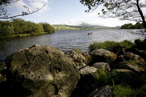 Bala lake, from my camping spot