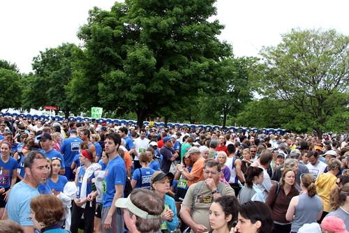 Battery Park pre-marathon