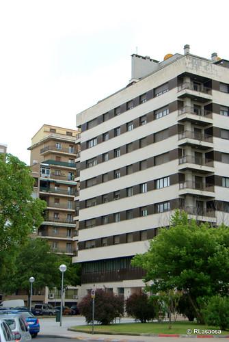 Edificio de viviendas en la calle Padre Moret.
