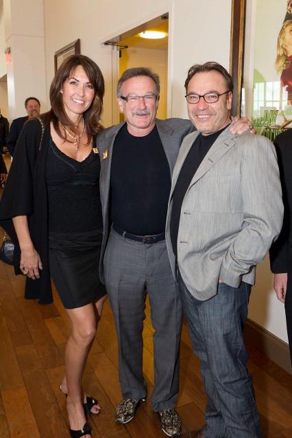 Susan Schneider, Robin Williams, Stanlee Gatti