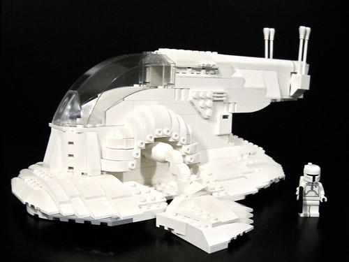 LEGO Starwars Bobba Fett Slave One 1