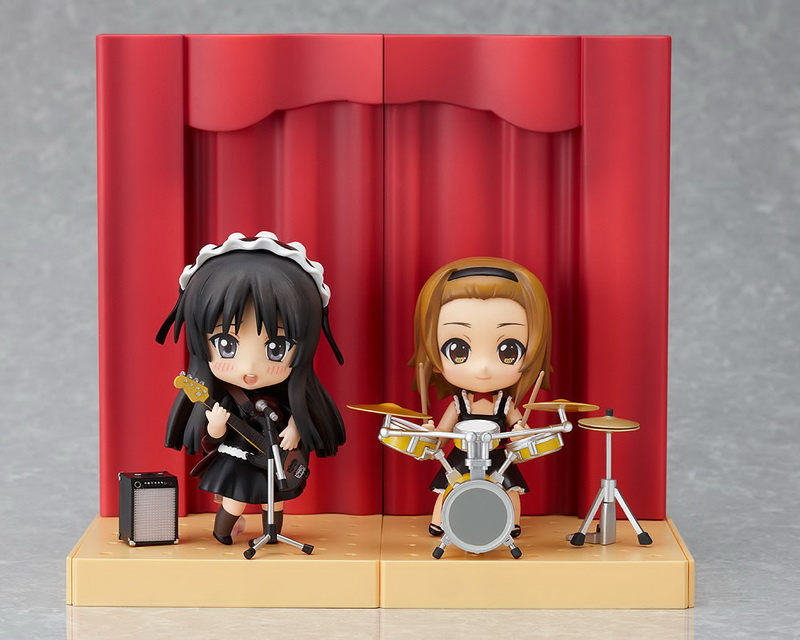 Nendoroid K-ON! Mio and Ritsu Live Stage Set 01