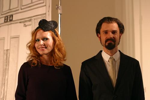 Nina Persson and Nathan Larson