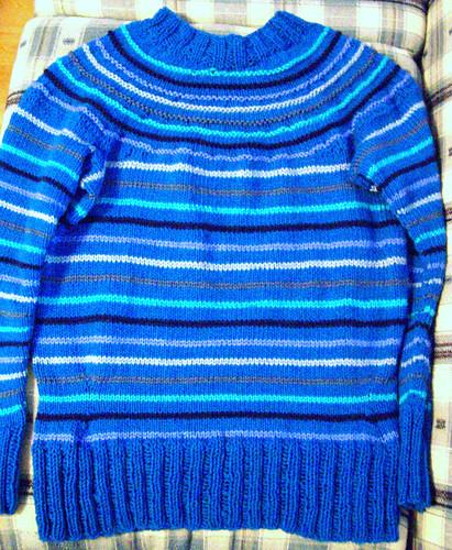 ravelympics sweater finished!