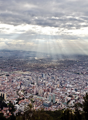 Bogota from higher grounds
