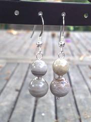 Jupiter jasper earrings