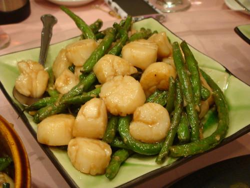 Lucky Eight Restaurant - Scallops