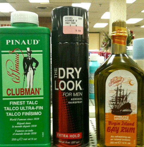 Clubman, Dry Look, Bay Rum