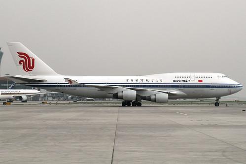 Air China B747-400M(B-2467)