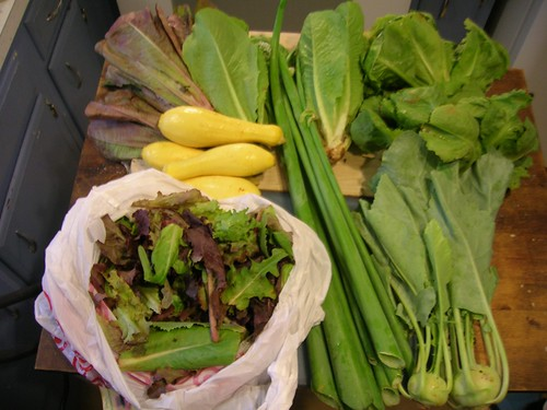 Week 3 veggies