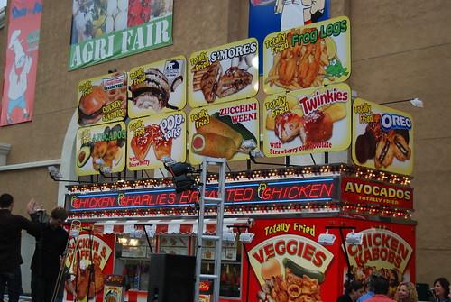 Fried food heaven