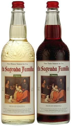 Botellas Sagrada Familia 0.75 litros
