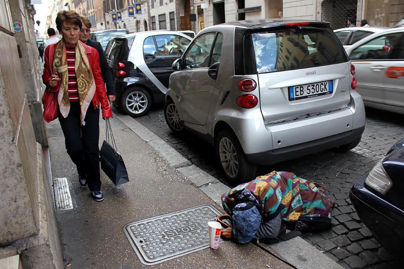 A beggar in Rome