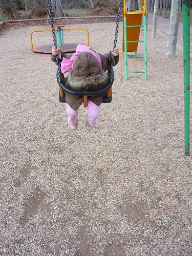 On a Spanish swing
