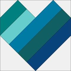 Rail Fence Heart