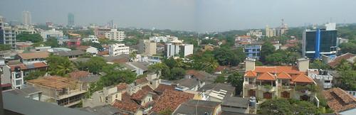 Unglamorous Colombo panorama