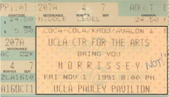 Morrissey, Pauley Pavilion