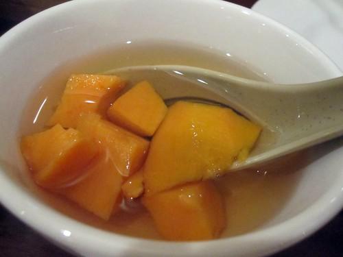 dim sum yam soup