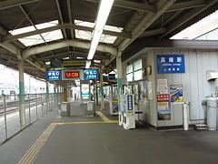 上信電鉄高崎駅(At Joshin Line Takasaki Sta., Japan)