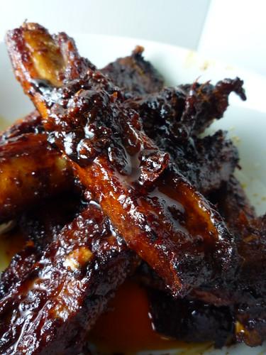 Spicy Korean Pork Spare Ribs (Dwaeji Galbi)