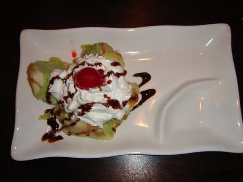 Kumo - Tempura Green Tea Ice Cream