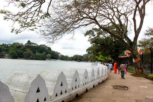 A pleasant evening at Kandy