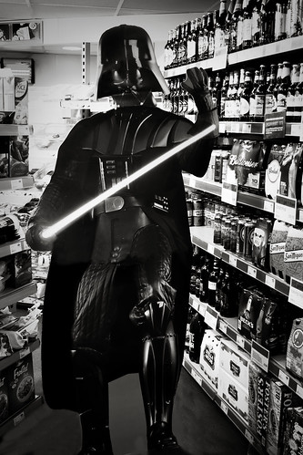 Darth Goes Shopping by Cathy G