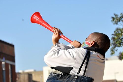 Blow the Vuvuzela