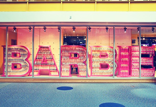 barbie window
