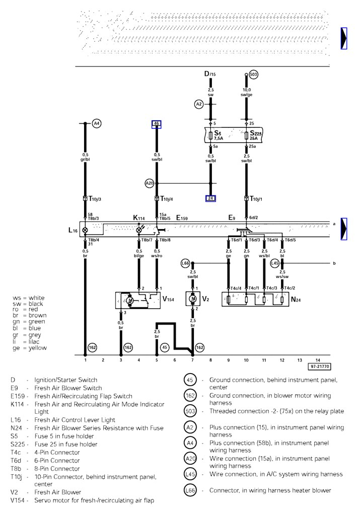 Audi A4 Immobilizer Wiring Diagram $ Download-app.co