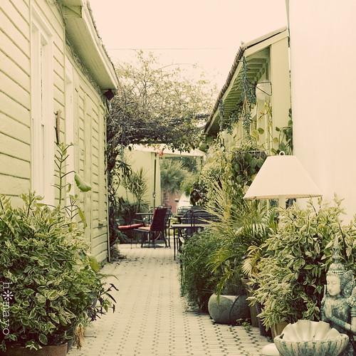 garden alley