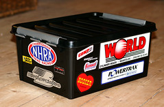 Toolbox with Stickers
