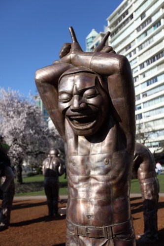 Creepy Metal Laughing Man