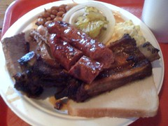 Sweet Texas BBQ. Oh how I've missed you.