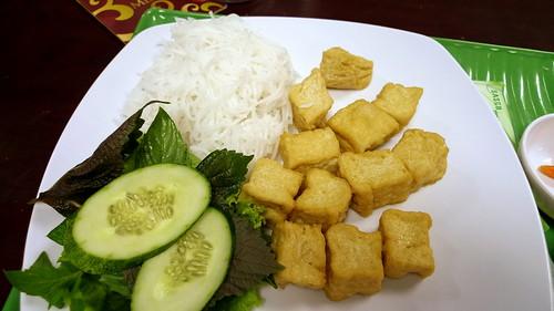 bún and tofu in vietnam