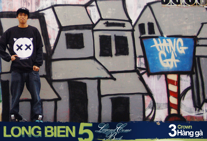 Long Biên 5 Graffiti Battle 2